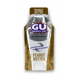 GU Peantu Butter Energy Gel Review