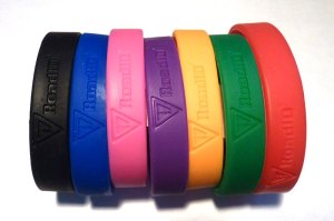 Road ID Wrist Bands